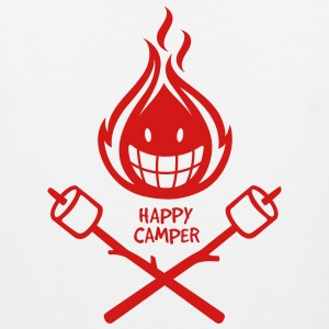 Happy Camper 1-color Kids' Shirts - Men's Premium Tank
