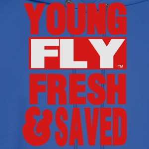 YOUNG FLY FRESH & SAVED Women's T-Shirts - Men's Hoodie