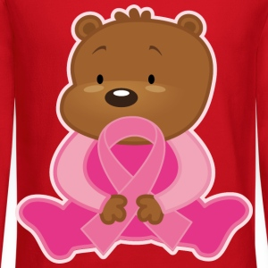 Breast Cancer Teddy Bear Kids' Shirts - Crewneck Sweatshirt