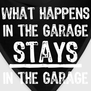 Stays In The Garage T-Shirts - Bandana