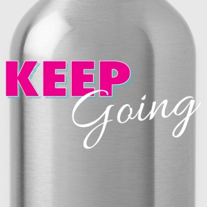Keep Going Workout Kids' Shirts - Water Bottle
