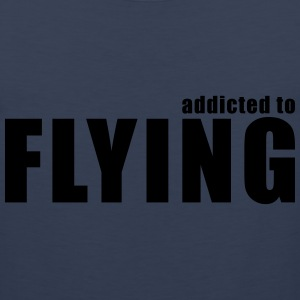 addicted to flying T-Shirts - Men's Premium Tank