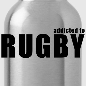 addicted to rugby T-Shirts - Water Bottle