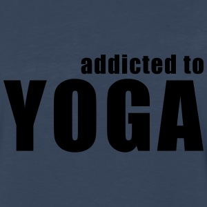 addicted to yoga T-Shirts - Men's Premium Long Sleeve T-Shirt