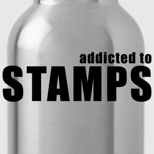 addicted to stamps T-Shirts - Water Bottle