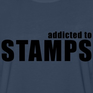 addicted to stamps T-Shirts - Men's Premium Long Sleeve T-Shirt