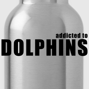 addicted to dolphins T-Shirts - Water Bottle