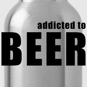 addicted to beer T-Shirts - Water Bottle