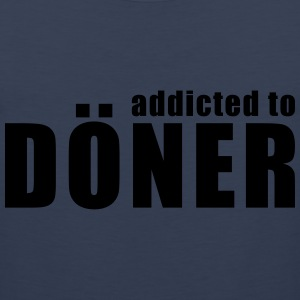 addicted to doner T-Shirts - Men's Premium Tank