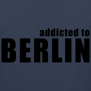 addicted to berlin T-Shirts - Men's Premium Tank