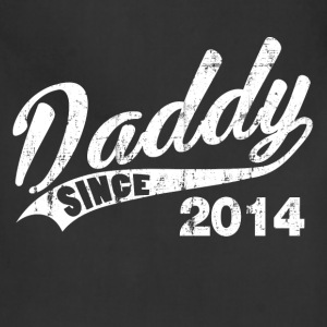 daddy_since_2014 T-Shirts - Adjustable Apron