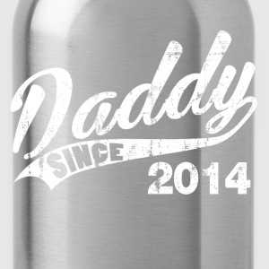 daddy_since_2014 T-Shirts - Water Bottle