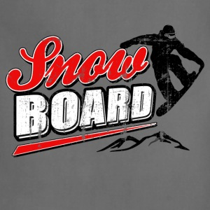 vintage_snowboard T-Shirts - Adjustable Apron