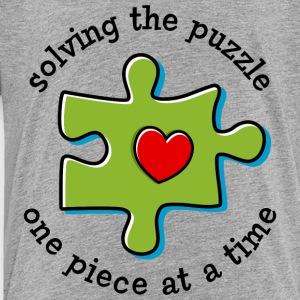 Solving The Puzzle Kids' Shirts - Toddler Premium T-Shirt