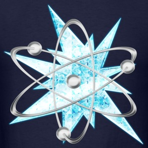 icy Shock Atom Long Sleeve Shirts - Men's T-Shirt