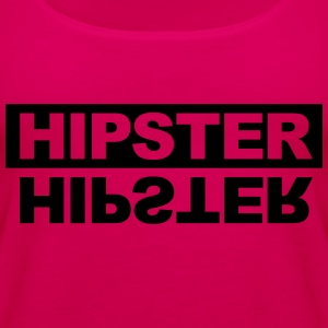 Hipster Hoodies - Women's Premium Tank Top