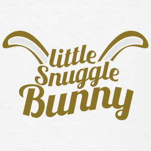 cute little snuggle bunny with ears Other - Men's T-Shirt
