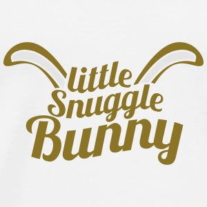 cute little snuggle bunny with ears Other - Men's Premium T-Shirt