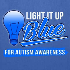 light_it_up_blue_for_autism_awareness Women's T-Shirts - Tote Bag