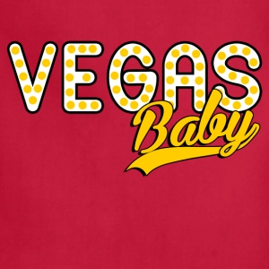 las_vegas_baby Women's T-Shirts - Adjustable Apron