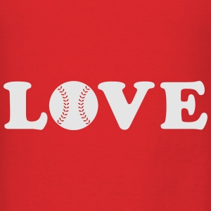 Love Baseball Bags & backpacks - Men's T-Shirt
