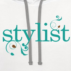 Stylist Beauty Occupation Women's T-Shirts - Contrast Hoodie