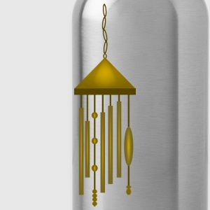 Big Bronze Wind Chime--DIGITAL DIRECT PRINT Long Sleeve Shirts - Water Bottle