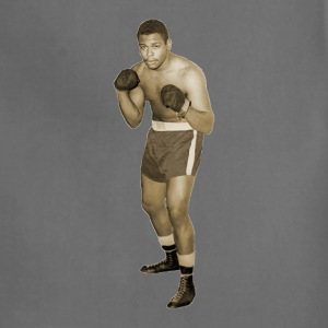 Vintage African American Boxer in Boxing Pose T-Shirts - Adjustable Apron