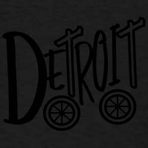 Big Detroit 'N Wheels Caps - Men's T-Shirt