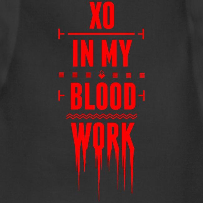 XO In My Blood Work - Unisex Crewneck