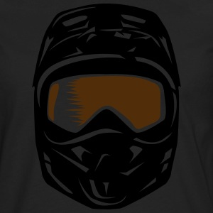Enduro helmet Shirt - Men's Premium Long Sleeve T-Shirt