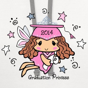 Graduation Princess 2014 Kids' Shirts - Contrast Hoodie