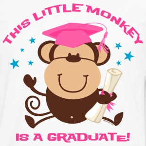 Girl Monkey Graduate Kids' Shirts - Men's Premium Long Sleeve T-Shirt