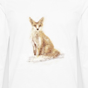 The Lonely Fox - Men's Premium Long Sleeve T-Shirt