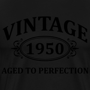 Vintage 1950 Aged to Perfection Hoodies - Men's Premium T-Shirt