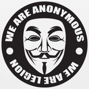 We Are Anonymous Hoodies - Men's Premium Tank