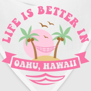 Life's Better In Oahu Women's T-Shirts - Bandana