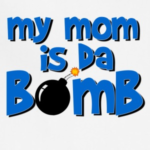 my_mom_is_da_bomb Baby & Toddler Shirts - Adjustable Apron