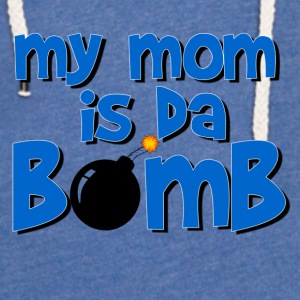 my_mom_is_da_bomb Baby & Toddler Shirts - Unisex Lightweight Terry Hoodie