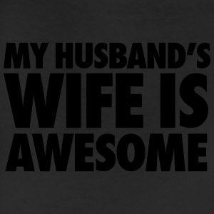 My Husband's Wife Is Awesome Tanks - Leggings