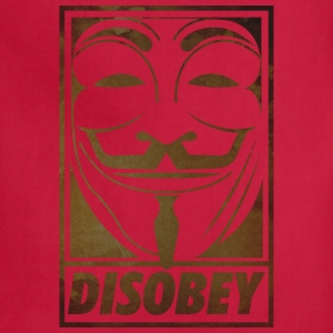 Disobey T-Shirts - Adjustable Apron