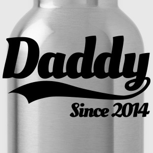 Daddy Since 2014 T-Shirts - Water Bottle