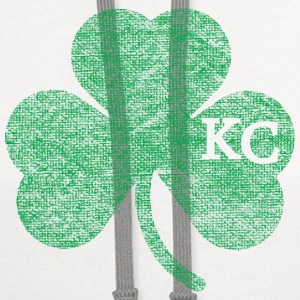 Old Kansas City Irish Shamrock Apparel Caps - Contrast Hoodie