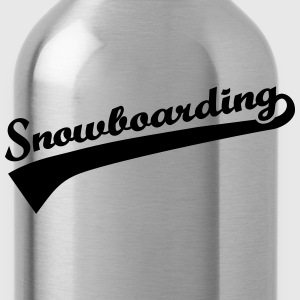 Snowboarding Women's T-Shirts - Water Bottle