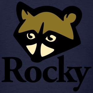 Rocky Raccoon - Men's T-Shirt
