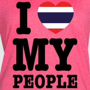 I Heart (Love) My Thai People Tanks - Women's Vintage Sport T-Shirt
