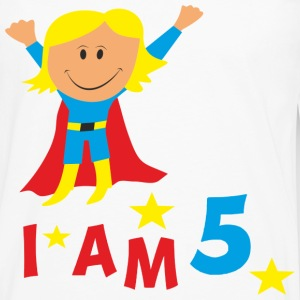 funny birthday 5 kid´s t-shirt - Men's Premium Long Sleeve T-Shirt