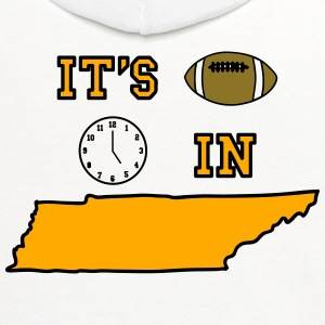 It's Football Time in Tennessee - Contrast Hoodie