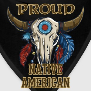 Proud Native American T-Shirts - Bandana