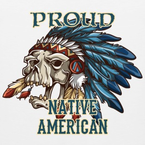 Proud Native American T-Shirts - Men's Premium Tank